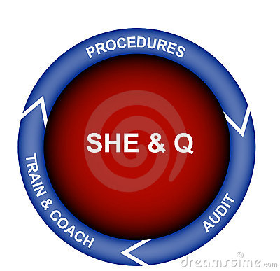 Safety, Health, Environment and Quality Diagram