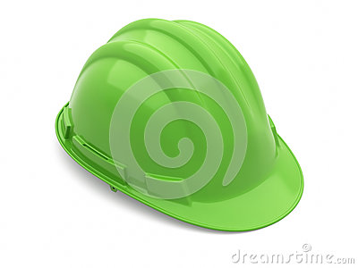 Safety Helmet green