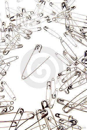 Free Safety Pins Royalty Free Stock Photos - 6181238