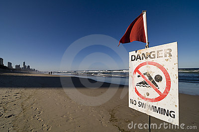 Safety Signs - Danger No Swimming