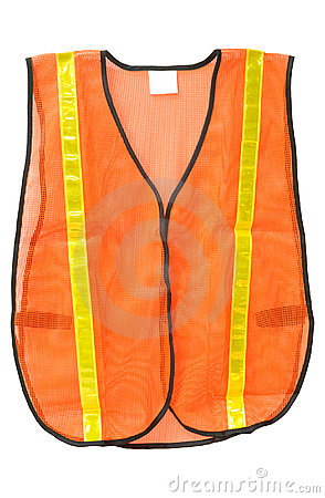 Free Safety Vest Isolated Stock Image - 4395641