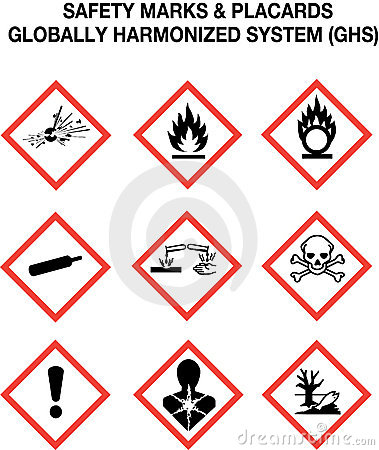Free Safety Warning Signs Collection Royalty Free Stock Photos - 11648178