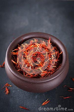 Free Safflower Or Thistle Dye Stock Photography - 37607822