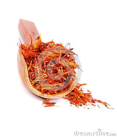 Free Saffron Royalty Free Stock Image - 34764226