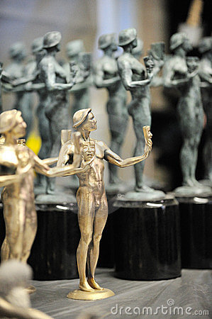 SAG Statuettes Editorial Photography