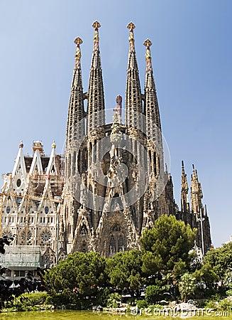 Free Sagrada Familia 1 Stock Photo - 2459410
