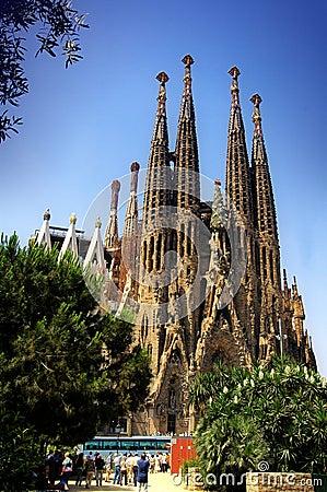 Free Sagrada Familia Royalty Free Stock Photography - 1556557