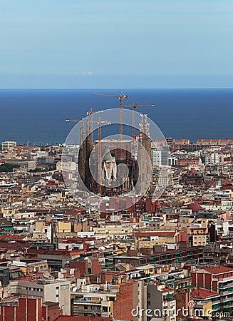 Free Sagrada Familia Royalty Free Stock Images - 21267969