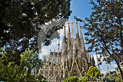 Sagrada familia Editorial Photography
