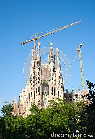 Free Sagrada Familia Stock Photo - 27202420