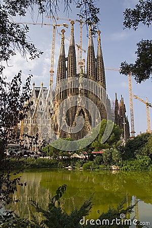 Free Sagrada Familia Royalty Free Stock Images - 3365089