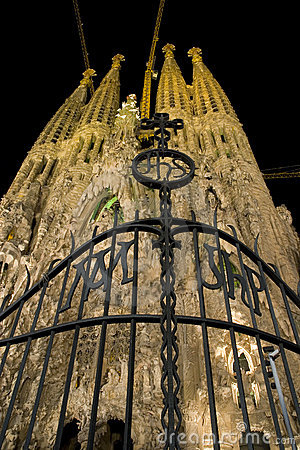 Free Sagrada Familia Royalty Free Stock Photography - 3367037