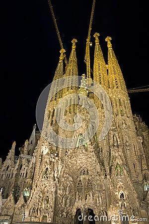 Free Sagrada Familia Stock Image - 3401581