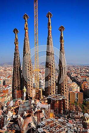 Free Sagrada Familia Stock Photo - 3680670