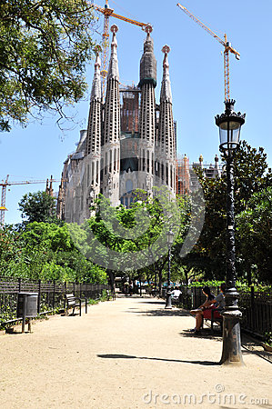 Free Sagrada Familia Stock Photos - 57069393