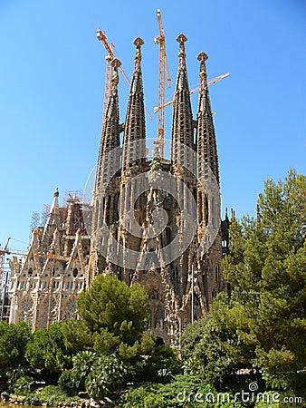 Free Sagrada Familia, Barcelona Royalty Free Stock Image - 330976