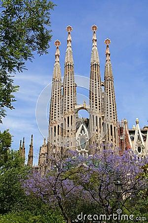 Free Sagrada Familia (Barcelona) Stock Photography - 4741272