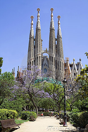 Free Sagrada Familia (Barcelona) Stock Images - 6250054