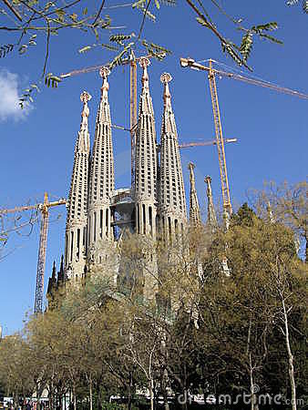 Free Sagrada Familia, Barcelona, Spain Royalty Free Stock Photos - 127608