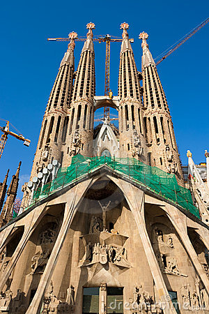 Sagrada Familia, Barcelona. Spain