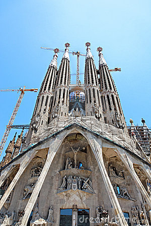 Sagrada Familia, Barcelona, Spain, Europe
