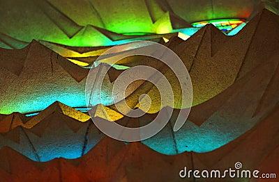 Sagrada Familia Ceiling  Editorial Photography