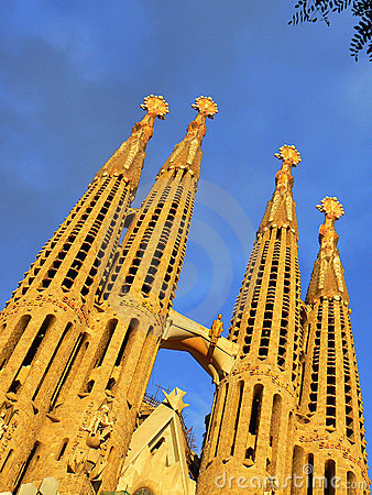 Free Sagrada Familia In Barcelona Royalty Free Stock Photo - 15195925