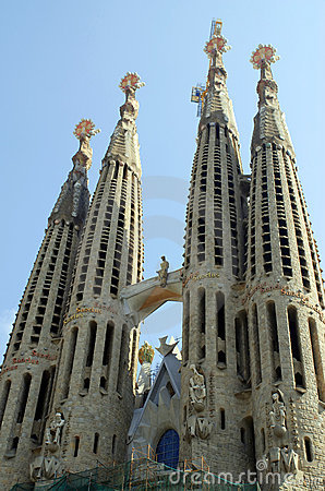 Free Sagrada Familia In Barcelona Royalty Free Stock Photo - 3106335