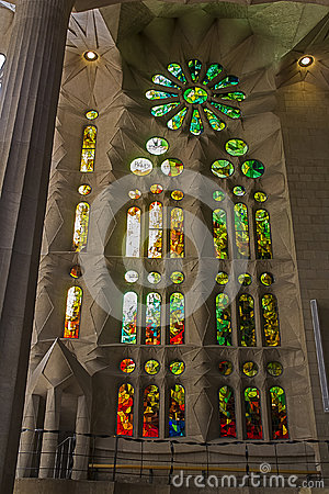 Sagrada Familia 08 Editorial Stock Image