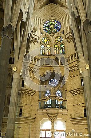 Sagrada Familia 12 Editorial Photo