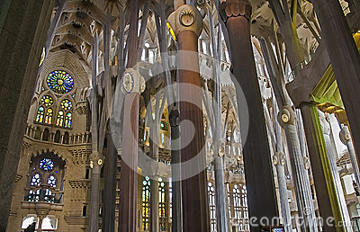 Sagrada Familia 19 Editorial Stock Photo