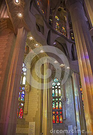 Sagrada Familia 20 Editorial Stock Image