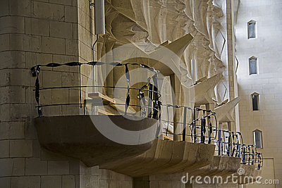 Sagrada Familia 25 Editorial Stock Image
