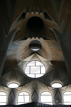 Sagrada Familia windows