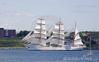 The Sagres - Nova Scotia Tall Ship Festival 2009 Editorial Photography