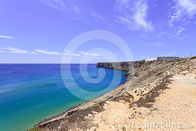 Sagres Point and its Fortress. Algarve, Portugal