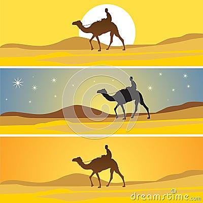 Sahara desert scenic