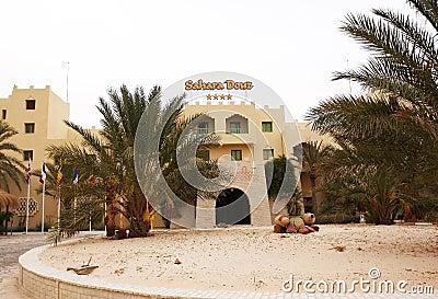 Sahara Douz Hotel Editorial Image