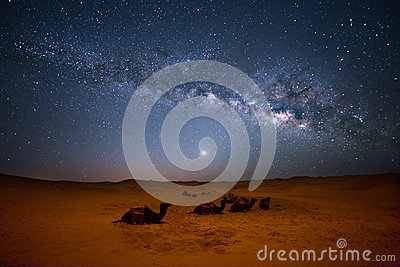 Sahara Milky Way