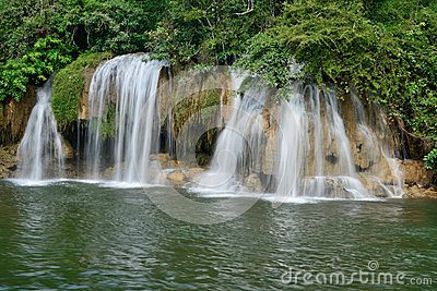 Sai Yok Yai falls at Sai Yok National Park.
