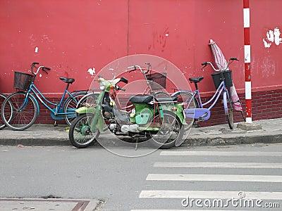 Saigon Bikes, Vietnam