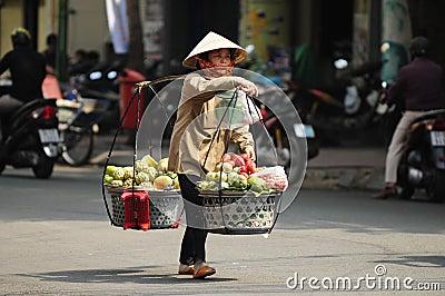 Saigon streetlife Editorial Image