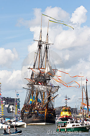 SAIL 2010 Amsterdam Editorial Stock Photo