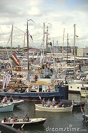 Sail Amsterdam 2010 Editorial Photo