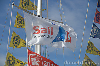 Sail Amsterdam 2010 Editorial Image