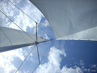 Sail In Blue Sky