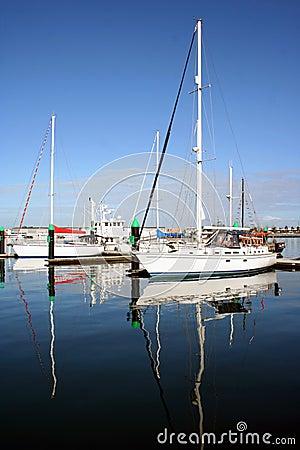 Sail boats, Melbourne, Australia