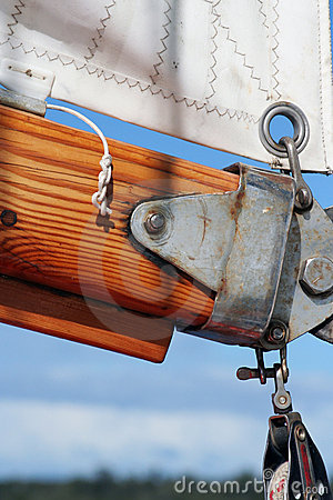 Free Sail Cloth And Rigging Royalty Free Stock Photography - 446627