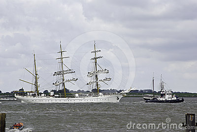 Sail event - Gorch Fock Editorial Photo