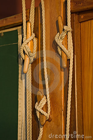 Sail rigging and maritime details